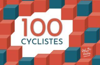 100 cyclistes