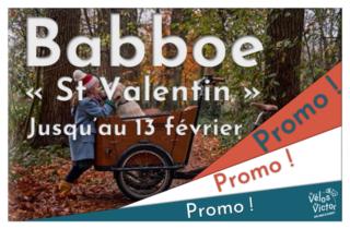 Promo Babboe St valentin 2021